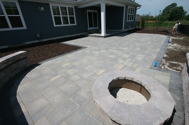 Seat Wells, Paver Patio in Southeastern Wisconsin