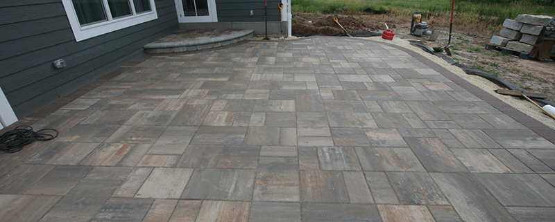 Brick Paver Patio by Exteriors Unlimited Landscape, Wisconsin