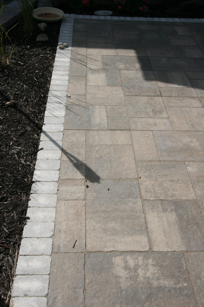 Brick Paver Patio,