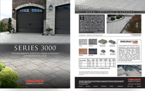 Unilock Series-3000 Catalog